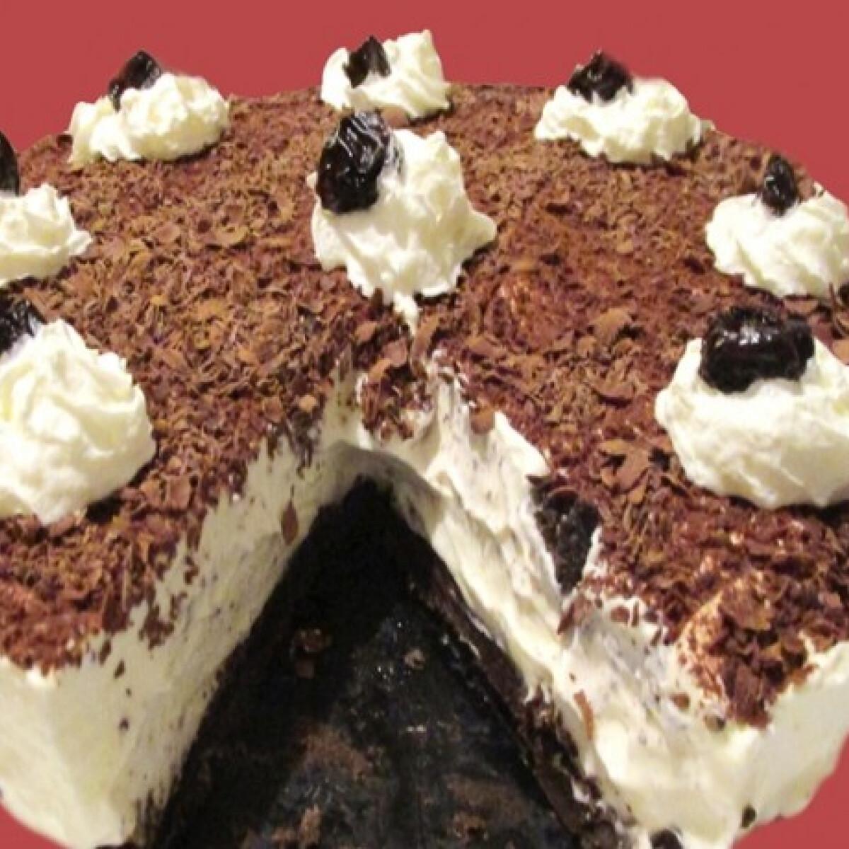 Ezen a képen: Oreo torta hidegen, gyorsan