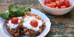 Sárgarépás-cukkinis zöldséglepényke