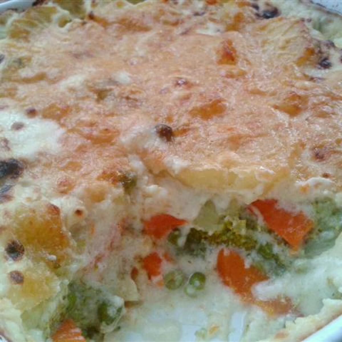 Ezen a képen: Csőben sült zöldségek Krisztike konyhájából