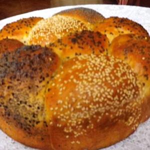 Magos tönköly zsemle-kenyér