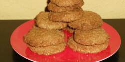Kókuszos-zabkorpás keksz