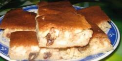 Almás-fahéjas süti - paleo