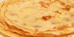 Palacsintatészta Puzsi konyhájából