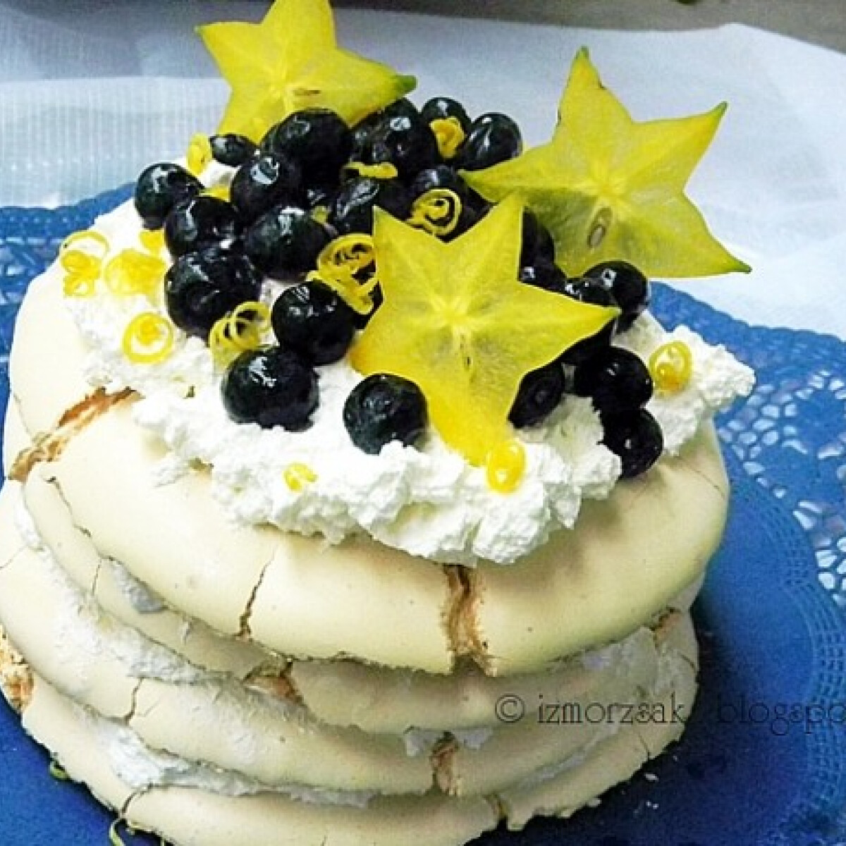 Emeletes - majdnem - Pavlova torta