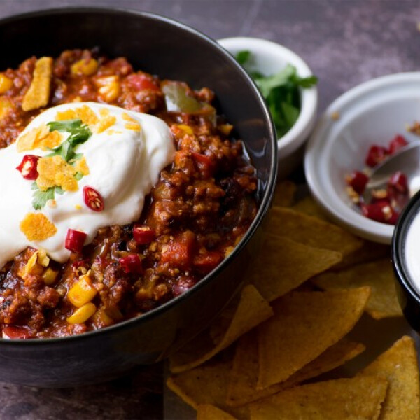 Chili Con Carne egyszerűen