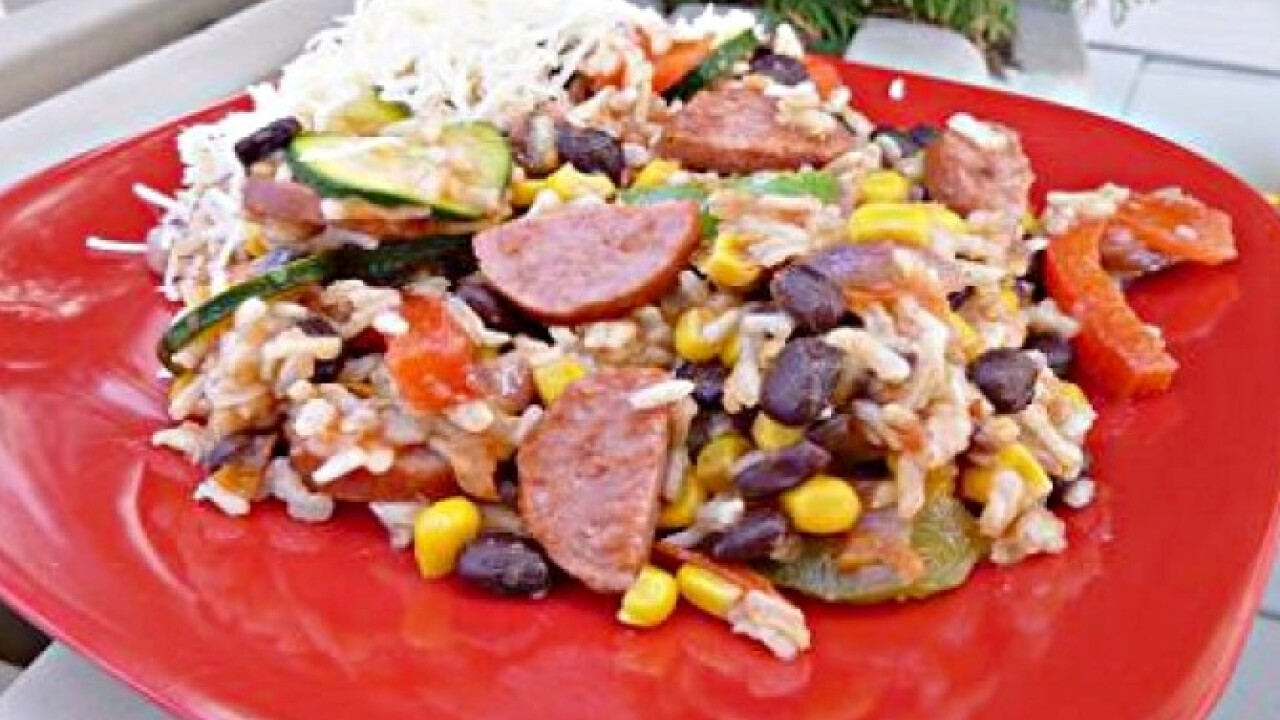 Mexikói zöldséges stir-fry