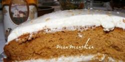 Narancsos sütőtöktorta (2.)