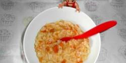 Zöldséges rizs babáknak is