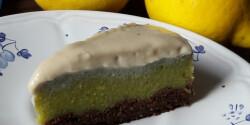 Nyers, vegán, gluténmentes citromtorta