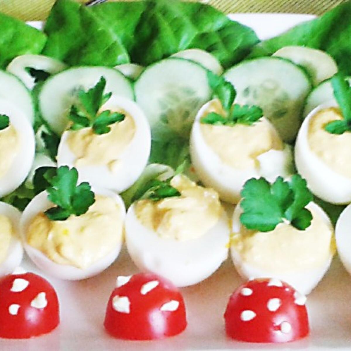Töltött tojások húsvétra Bernadett konyhájából