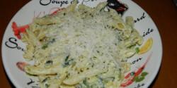 Olasz cukkinis tészta