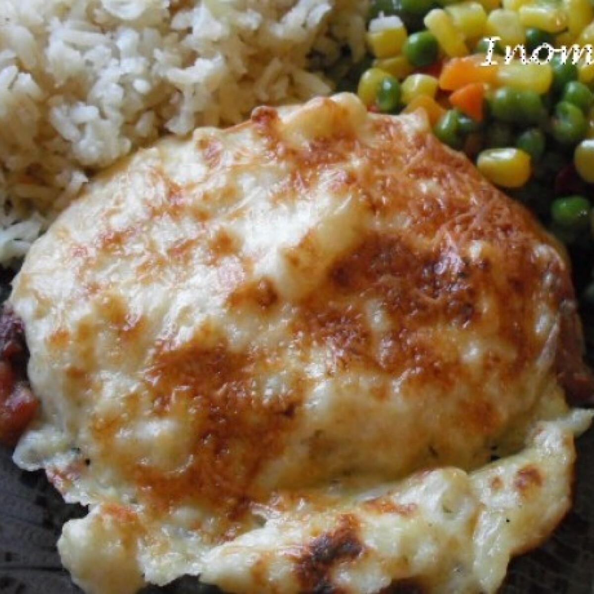 Karfiolkrémes csirkemell