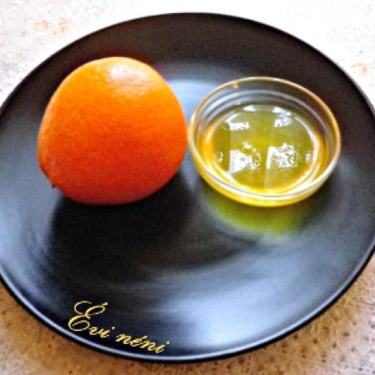 Ezen a képen: Narancsszirup