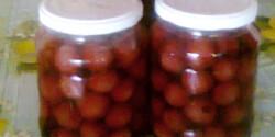 Legkönnyebb cseresznye- vagy meggybefőtt