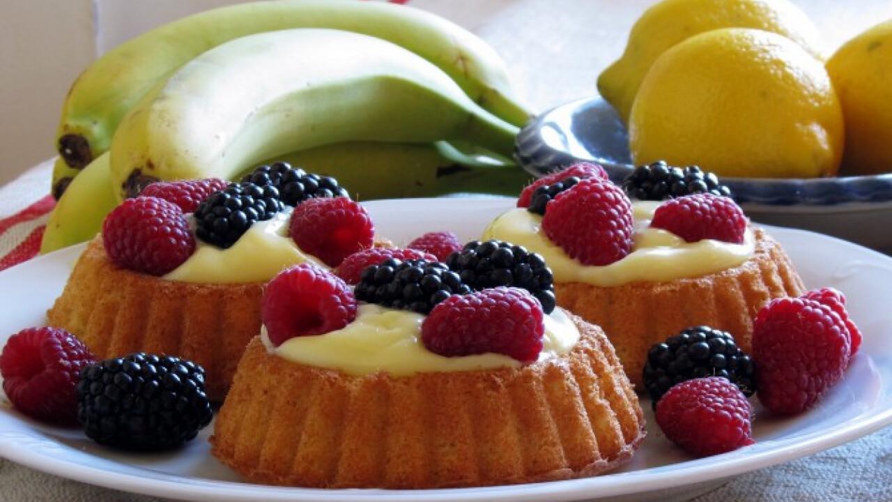 Mini gyümölcsös tortácskák