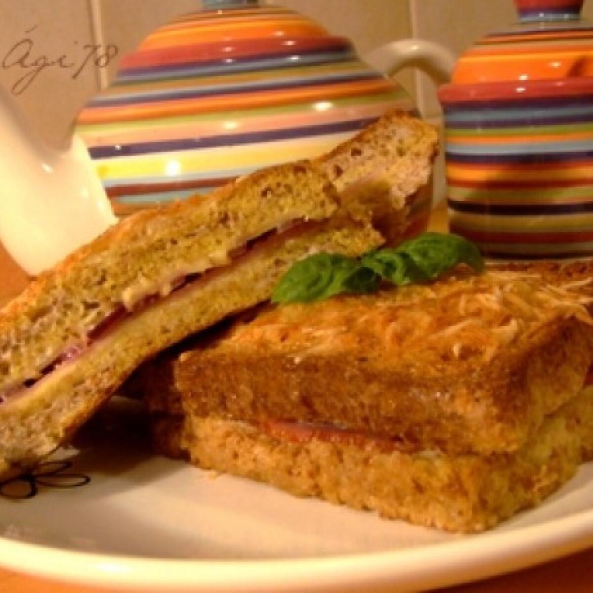 Rakott bundás kenyér csőben sütve