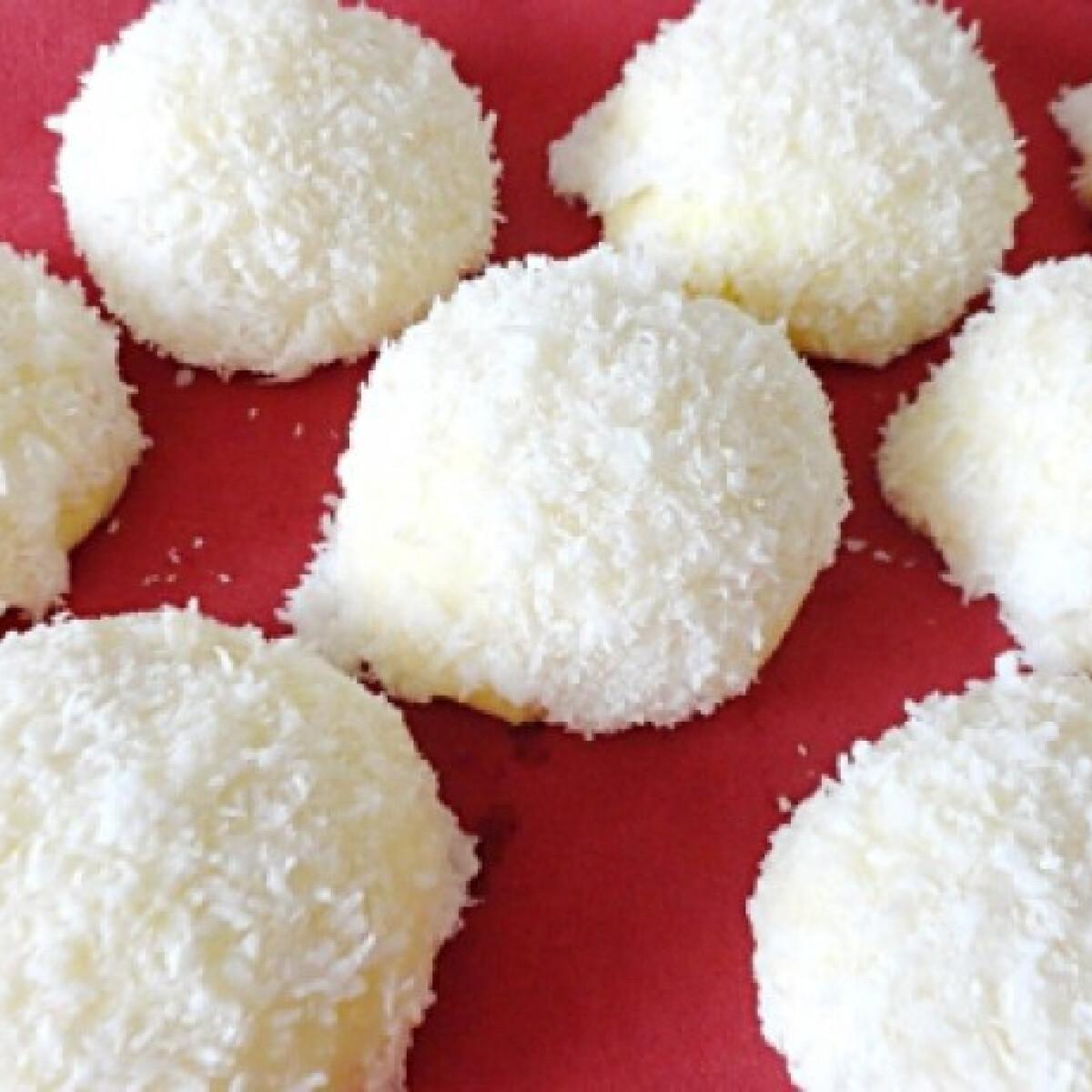 Kókuszos aprósütemény Glaser konyhájából