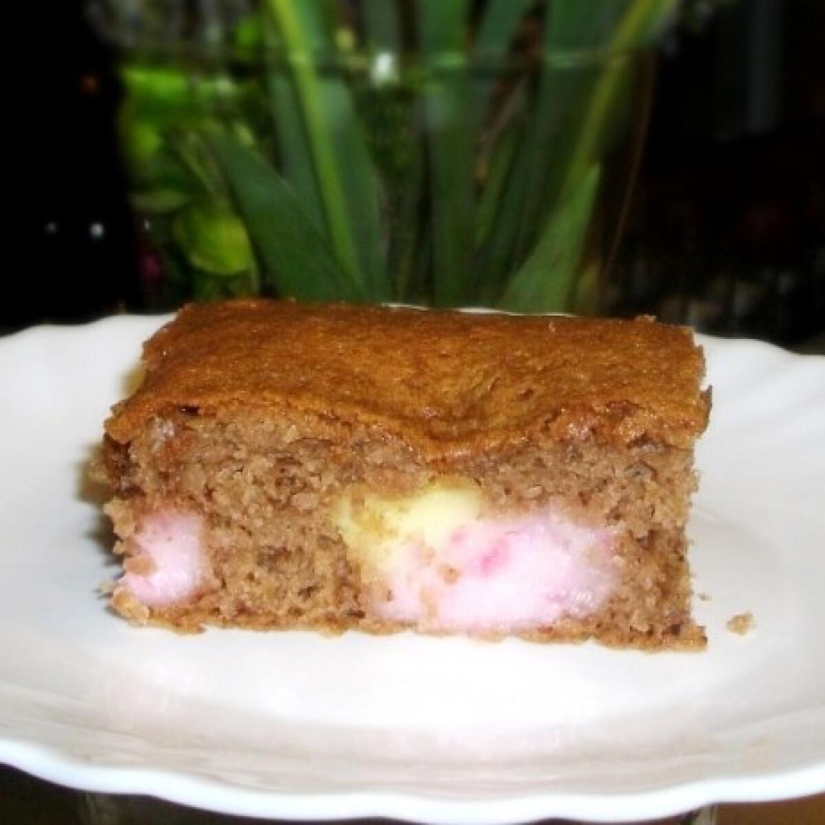 Ezen a képen: Pudingos kráter süti
