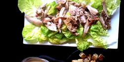 Cézár saláta joghurtos öntettel