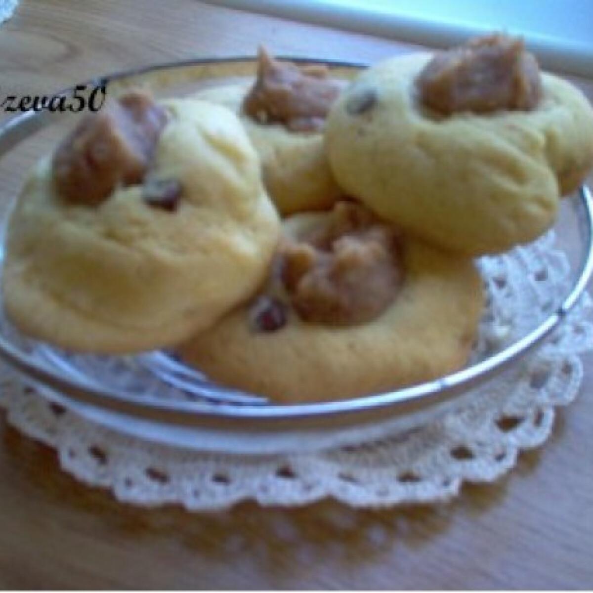 Ezen a képen: Puha gesztenyés keksz