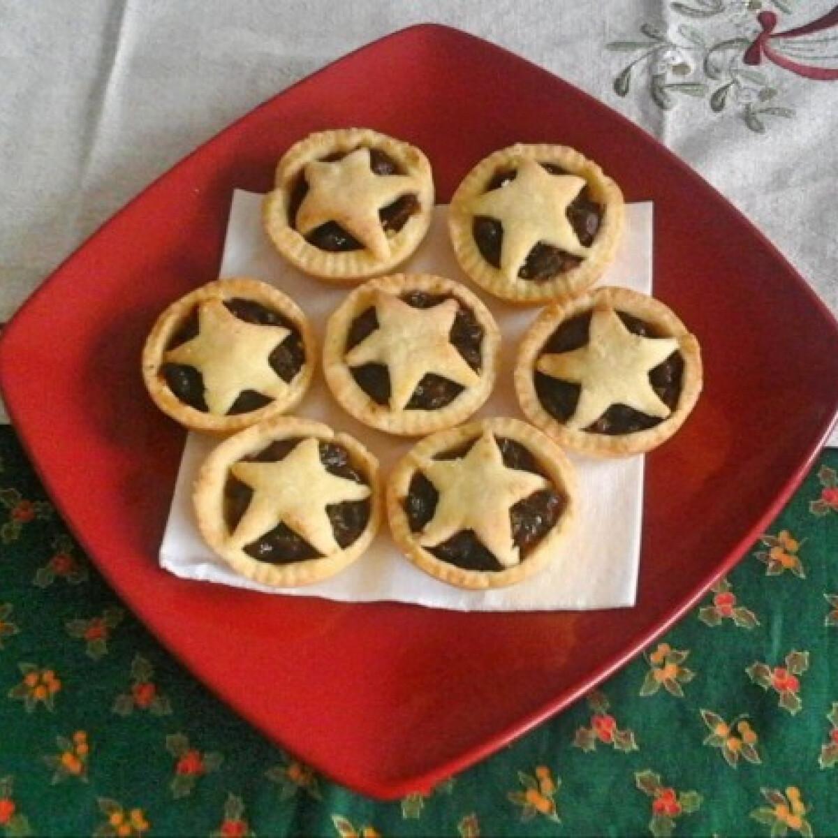 Ezen a képen: Mince pie muffin formában sütve