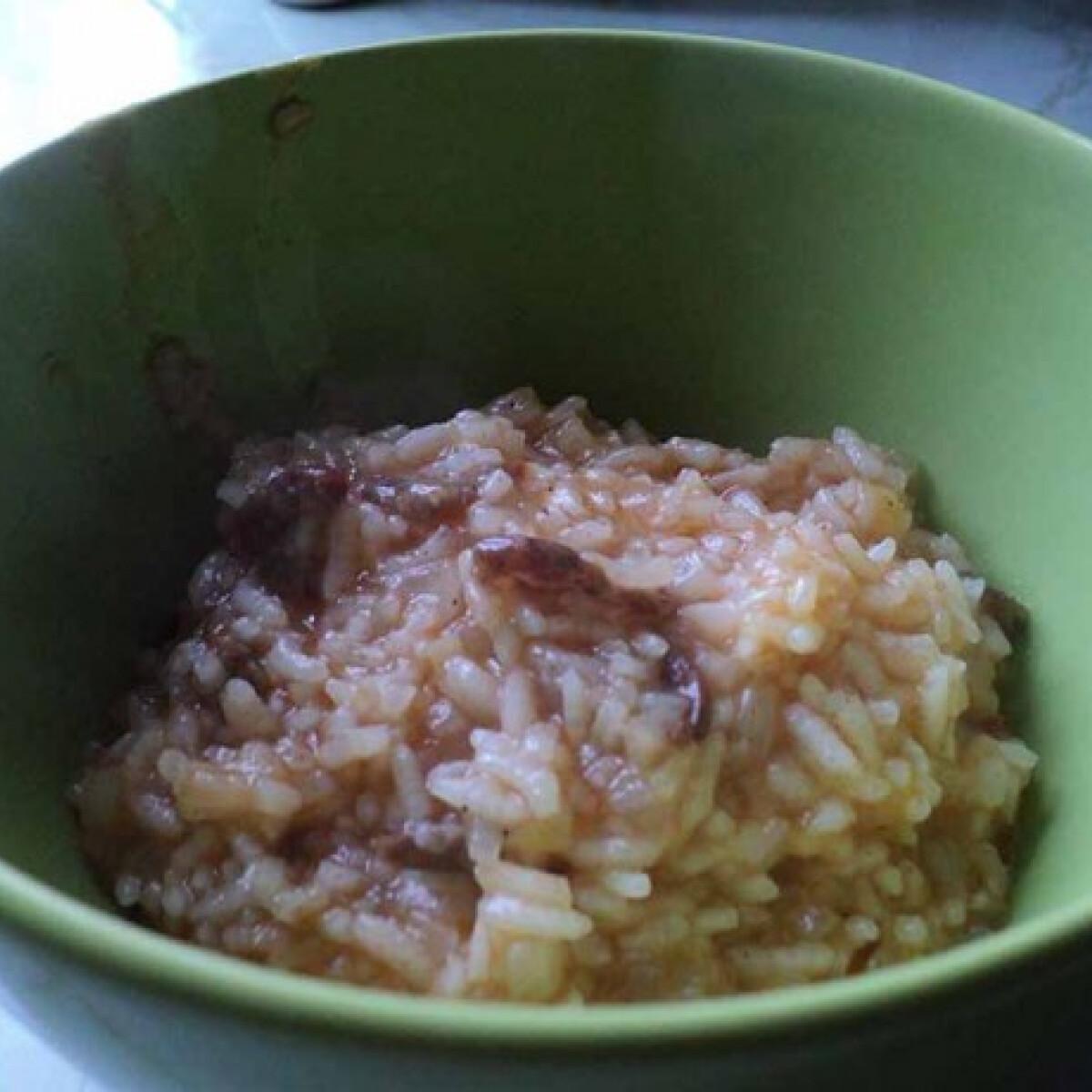 Rizs tokány