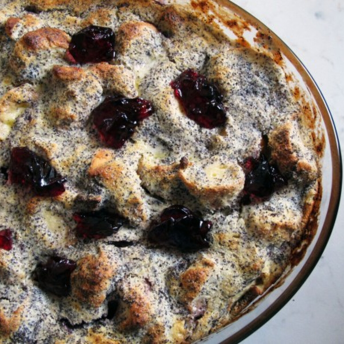 Ezen a képen: Sütőben sült mákos guba