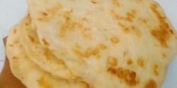 Sajtos-fokhagymás pita