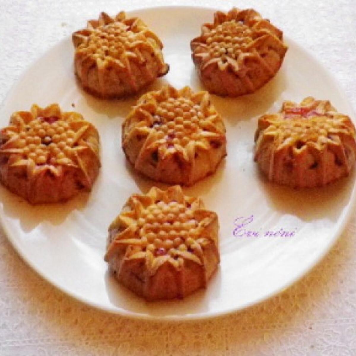 Ezen a képen: Szilvás muffin Évi néni konyhájából