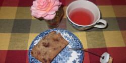 Angol teás sütemény