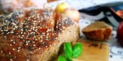 Teljes kiőrlésű kenyér PeZsuRi konyhájából