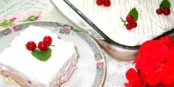 Habos-ribizlis süti bodzaszörppel