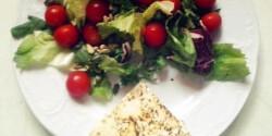 Grillezett orda salátával