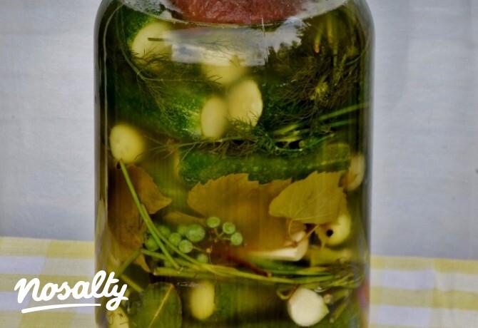 Ezen a képen: Kovászos uborka Mártitól