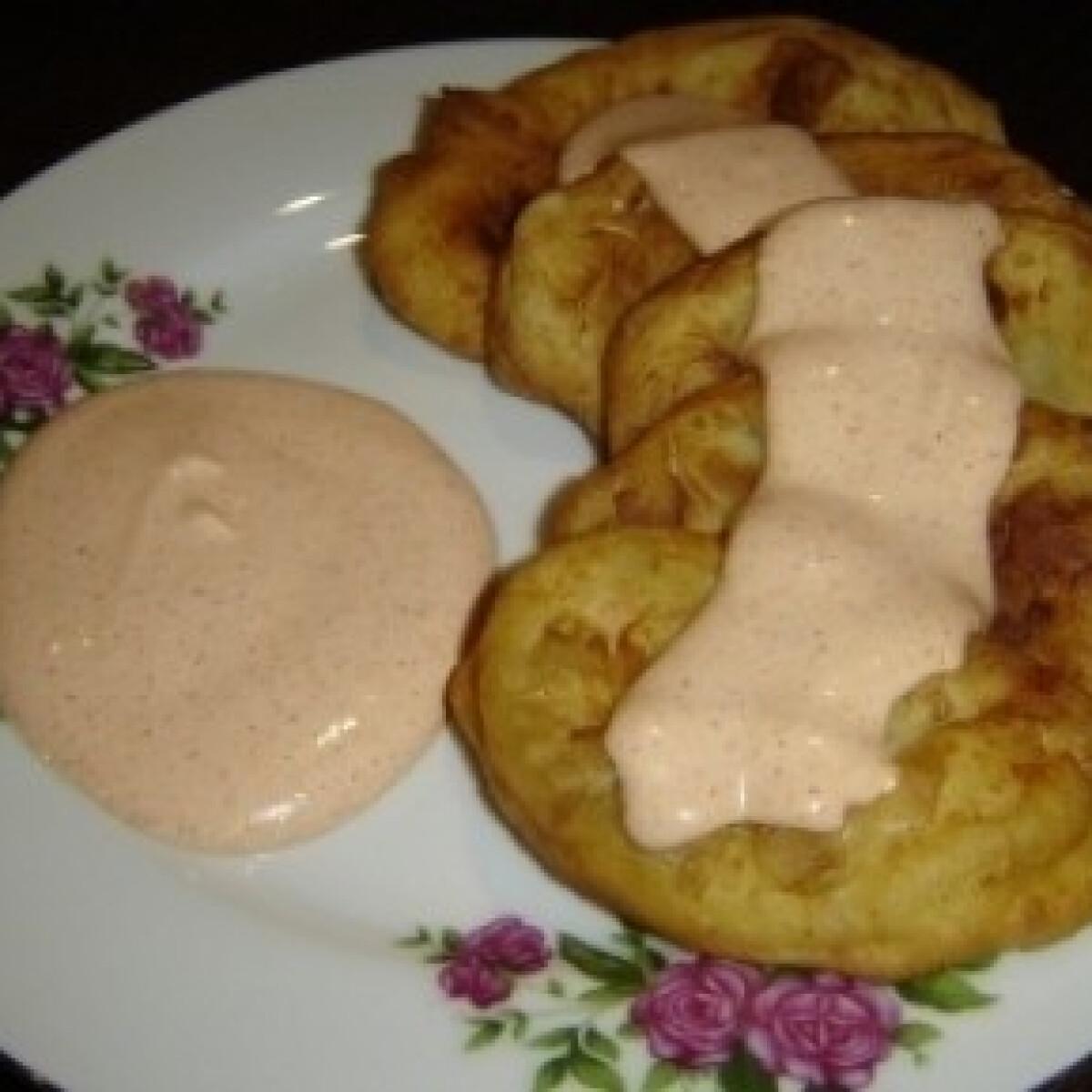 Ezen a képen: Pampuska (Krumplis lángos 4.)