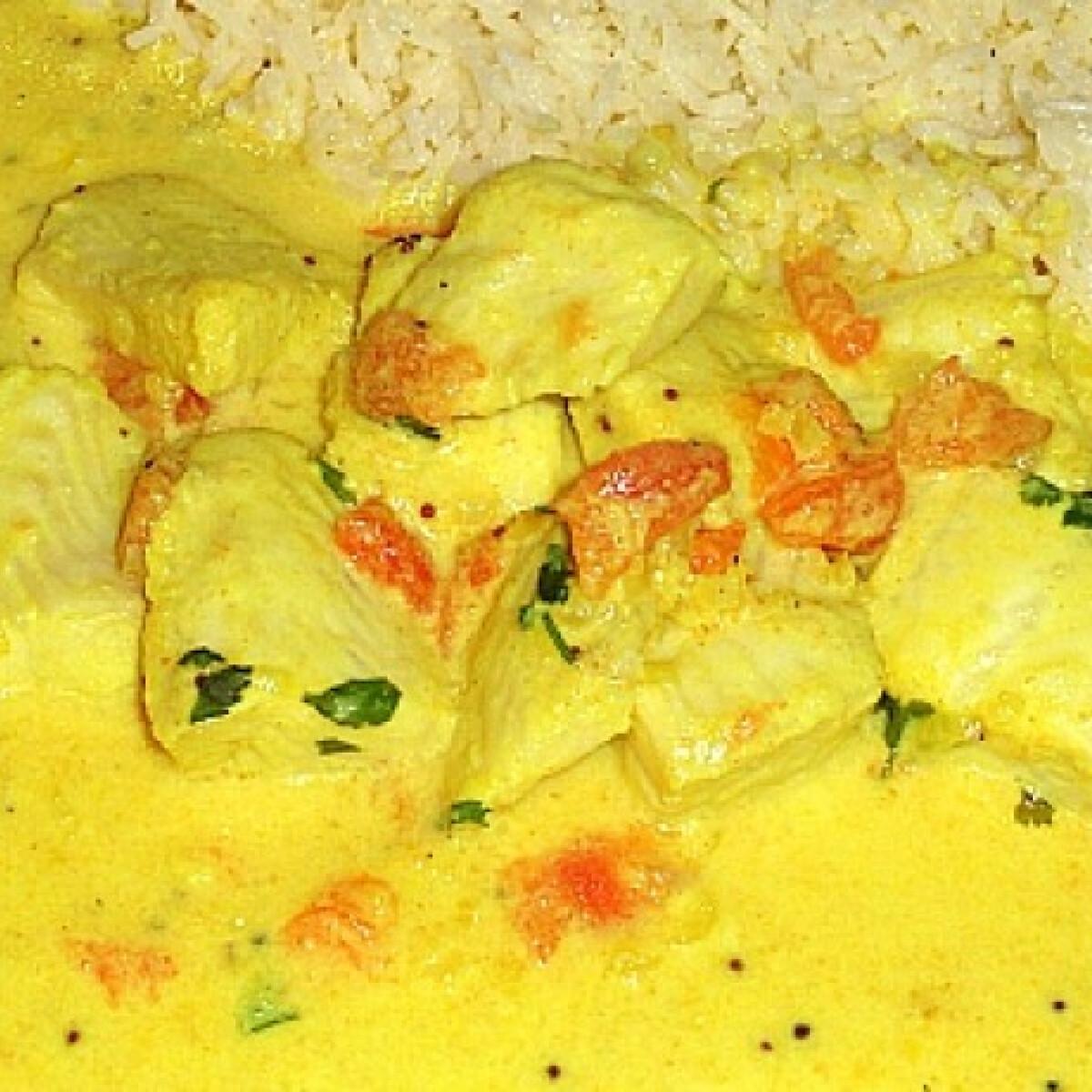 Ezen a képen: Hal curry