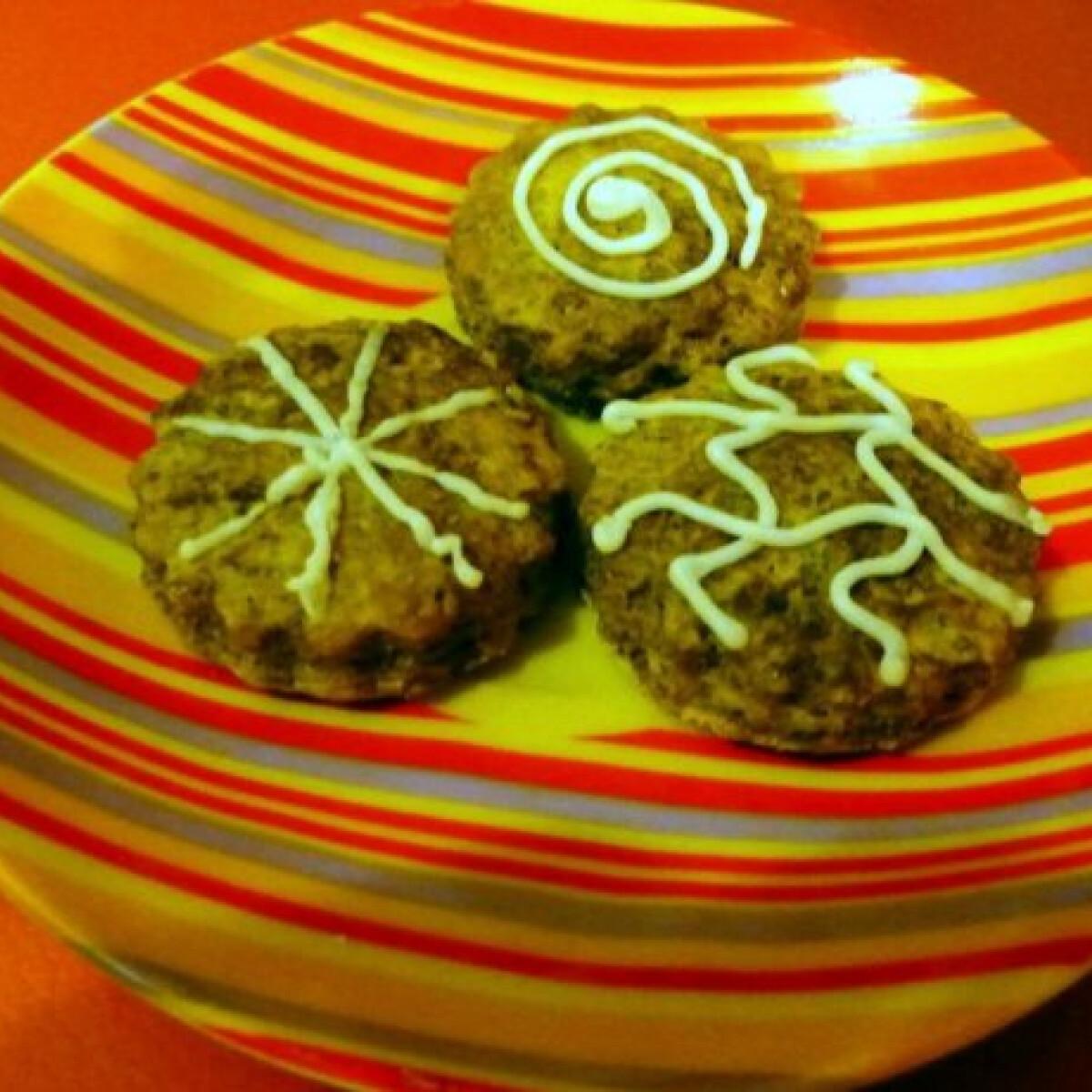 Ezen a képen: Rumos-kakaós keksz
