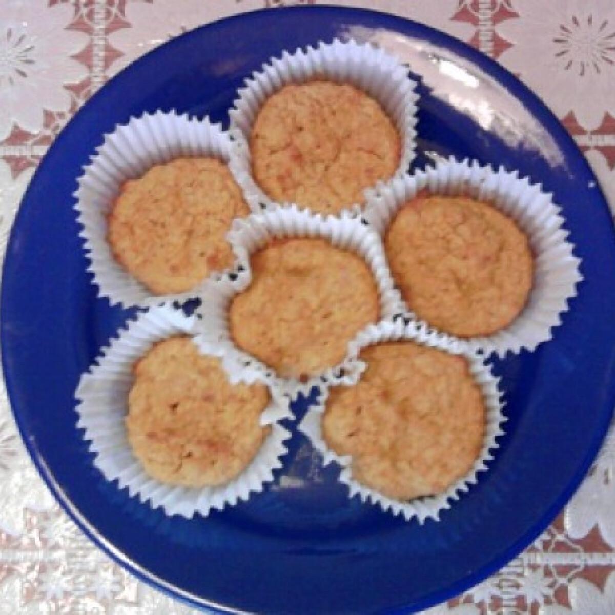 Ezen a képen: Sütőtökös muffin liszt nélkül