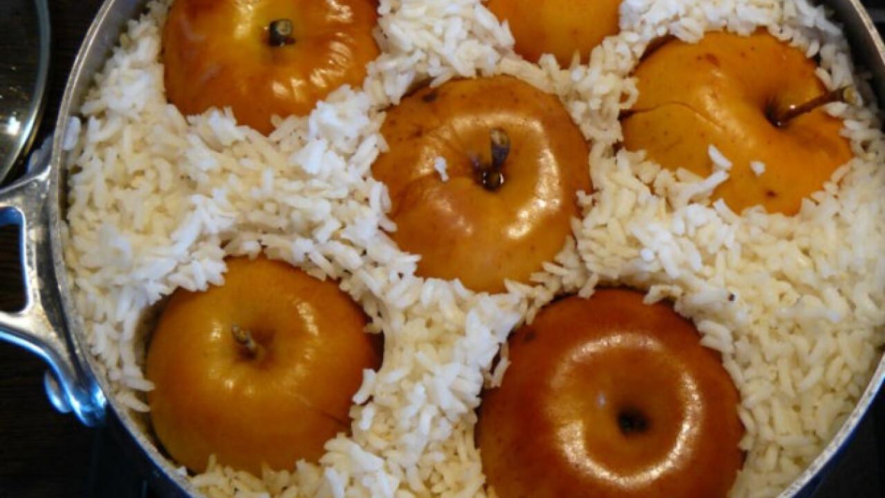 Almás rizs