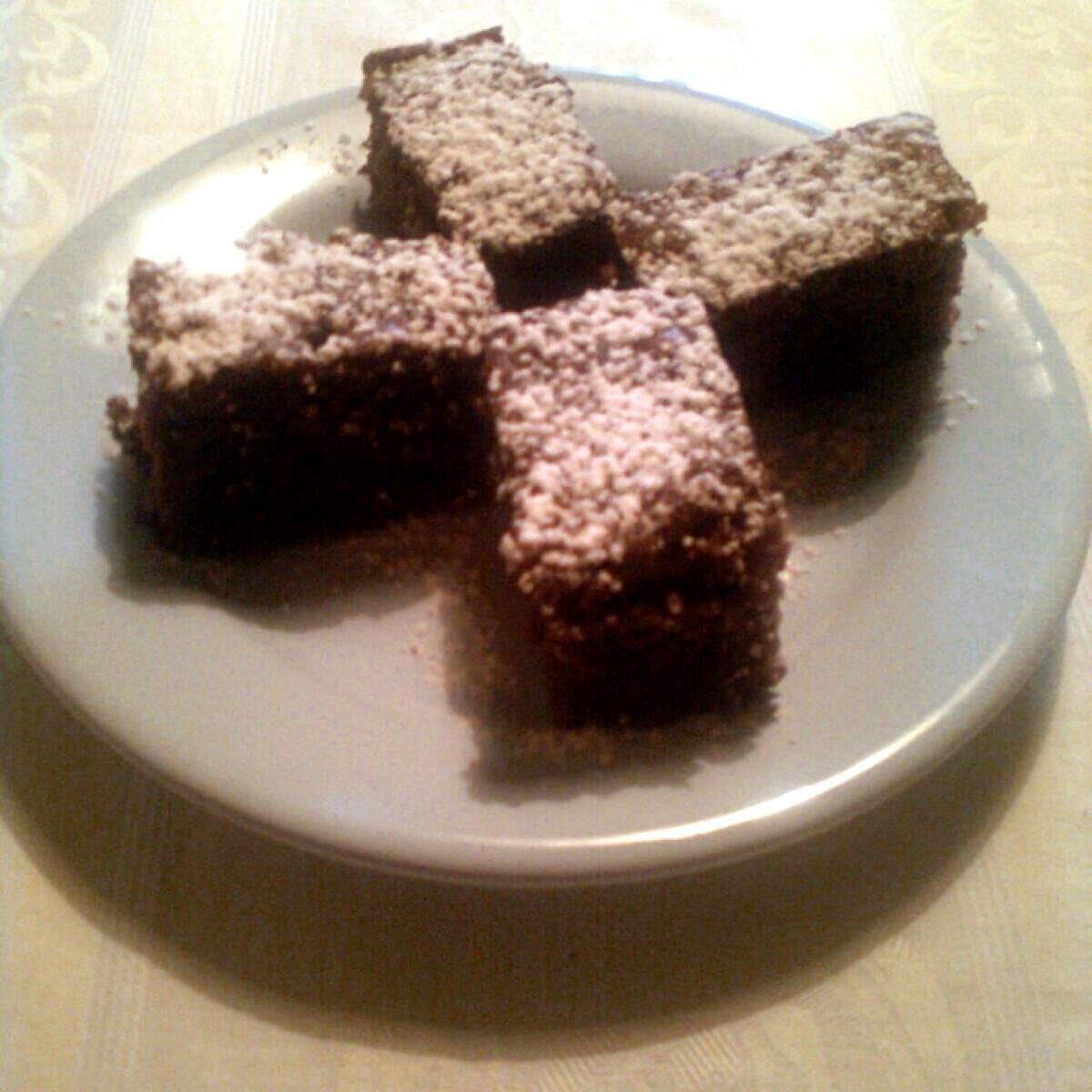 Ezen a képen: Csokis süti Tündétől
