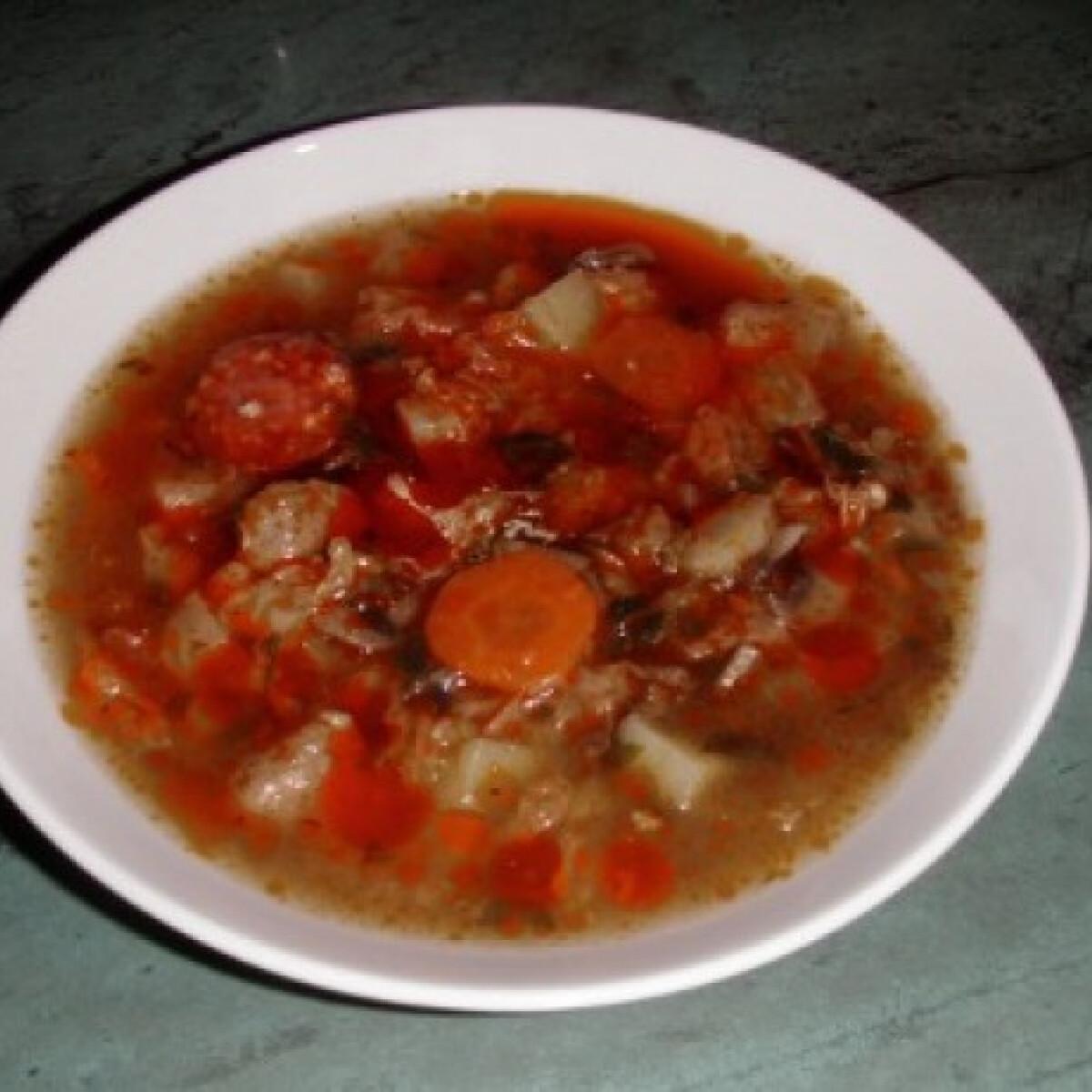 Bakonyi betyárleves Jolimami konyhájából