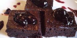 Brownie gyorsan kakaósan