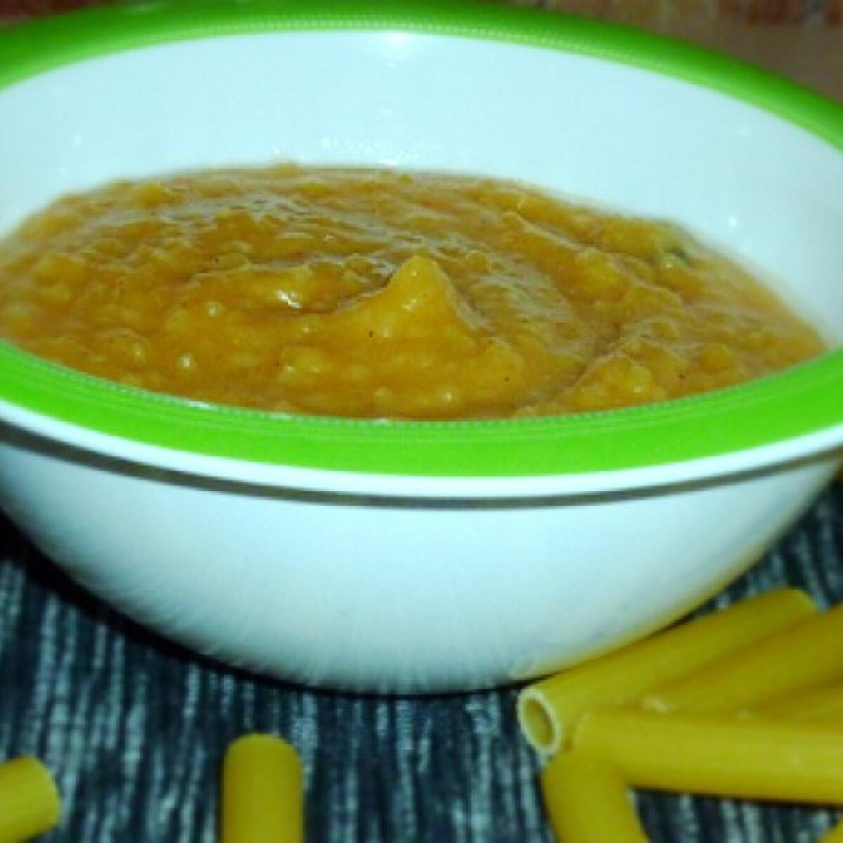 Ezen a képen: Krumplis tészta babáknak