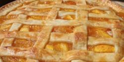 Őszi-sárgabarackos pite