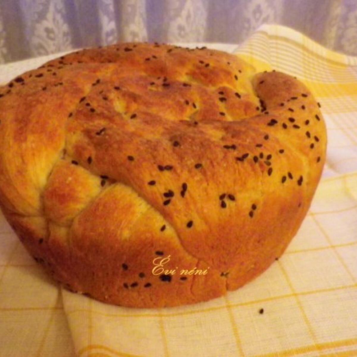 Ezen a képen: Magos-kefíres kovászos kenyér