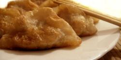 Jiaozi - kínai hússal töltött batyuk