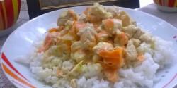 Ezersziget-csirkemell rizzsel