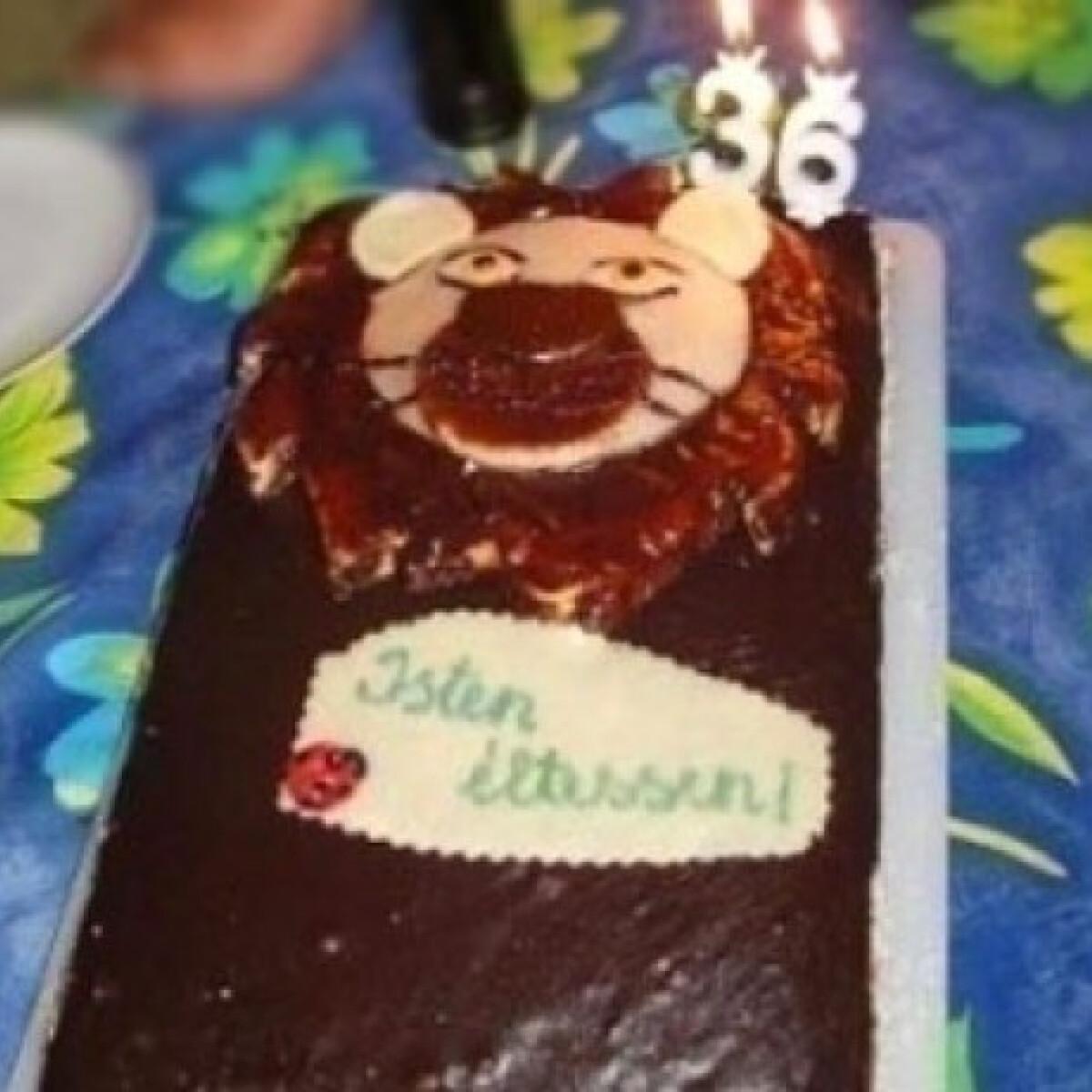 Ezen a képen: Oroszlánfej torta