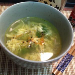 Gyors kínai tojásos brokkolileves