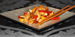 Kínai gyömbéres csirke